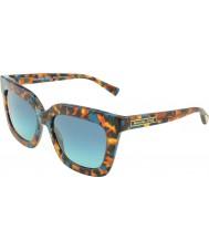 Michael Kors MK2013 53 Glam Turquoise Tortoiseshell 30684S Sunglasses