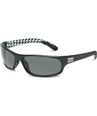 Bolle Anaconda Shiny Black TNS Gun Sunglasses