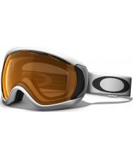 Oakley 57-863 Canopy Matte White - Persimmon Ski Goggles