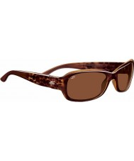 Serengeti Chloe Shiny Bubble Tortoiseshell Polarized Drivers Sunglasses