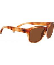 Serengeti Gabriella Shiny Honey Tortoiseshell Polarized Drivers Sunglasses