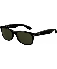 RayBan RB2132 52 New Wayfarer Black 901-58 Polarized Sunglasses