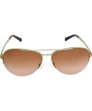 Michael Kors MK1001 59 Gramercy Gold Silver 101914 Sunglasses