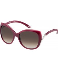 MaxMara Ladies MM ST.Moritz T56 K8 Red Sunglasses