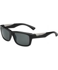 Bolle Jude Shiny Black Polarized TNS Sunglasses