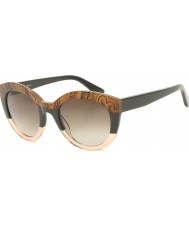 ETRO Ladies ET600S Antique Green Sunglasses