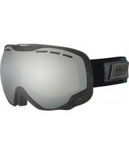 Bolle 21448 Emperor Black and Green Heritage - Black Chrome Ski Goggles