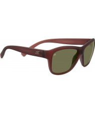 Serengeti Gabriella Sanded Crystal Wine Polarized 555nm Sunglasses