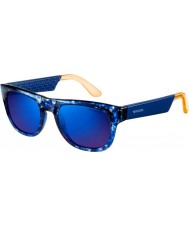 Carrera Carrera 5006 Blue Pattern Sunglasses