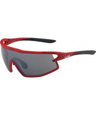 Bolle B-Rock Matt Red and Black TNS Gun Sunglasses