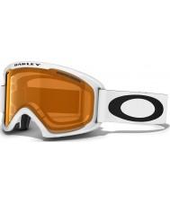 Oakley 59-362 02 XL Matte White - Persimmon Ski Goggles