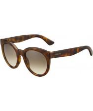 Gucci Ladies GG 3810-S MQL JD Havana Sunglasses