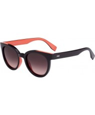 Fendi Colour Flash FF 0150-S U4S DZ Violet Salmon Sunglasses