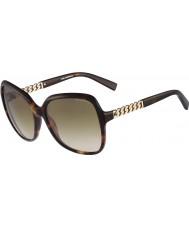Karl Lagerfeld Ladies KL841S Havana Sunglasses