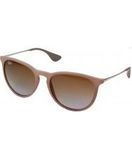 RayBan RB4171 54 Erika Dark Rubber Sand 600068 Sunglasses