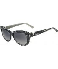 Valentino Ladies V628S Silver Pearl Sunglasses