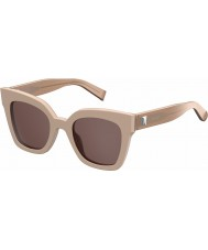 MaxMara Ladies MM Prism IV C5P K2 Nude Sunglasses
