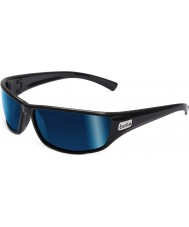 Bolle Python Black Polarized Offshore Blue Sunglasses