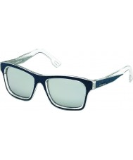 Diesel DL0071 Blue Crystal Sunglasses