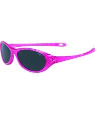 Cebe Gecko (Age 5-7) Pink Translucent Sunglasses