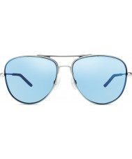 Revo RE1022 Windspeed II Chrome - Blue Water Polarized Sunglasses