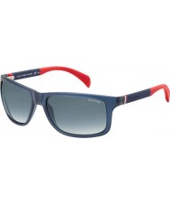Tommy Hilfiger TH 1257-S 4NK JJ Blue Red Sunglasses