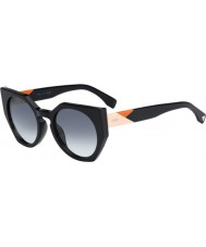 Fendi Facets FF 0151-S 807 JJ Black Sunglasses