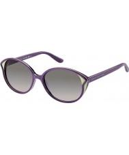 Marc by Marc Jacobs Ladies MMJ 381-S FHI EU Purple Cream Sunglasses