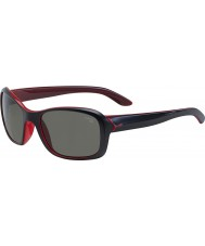 Cebe Idyll Matt Black Crystal Pink Sunglasses