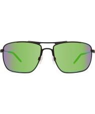 Revo RE3089 Groundspeed Matte Black - Green Water Polarized Sunglasses
