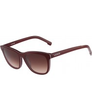 Lacoste Ladies L740S Red Sunglasses