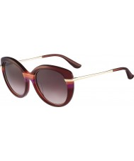 Salvatore Ferragamo Ladies SF724S Wine Sunglasses
