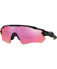 Oakley OO9208-04 Radar EV Path Polished Black - Prizm Trail Sunglasses