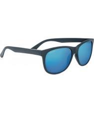 Serengeti Ostuni Sanded Dark Grey Polarized 555nm Blue Sunglasses