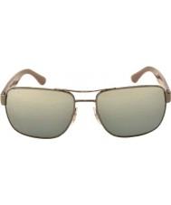 RayBan RB3530 58 Highstreet Gunmetal 004-88 Mirrored Sunglasses