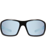 Revo RE4057 Bearing Matte Black - Blue Water Polarized Sunglasses