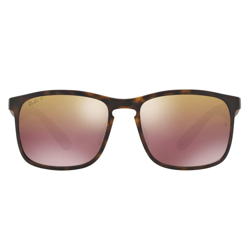 91d2a2cf68e RayBan RB4264 58 Tech Chromance Matte Havana 894-6B Brown Mirror Polarized  Sunglasses