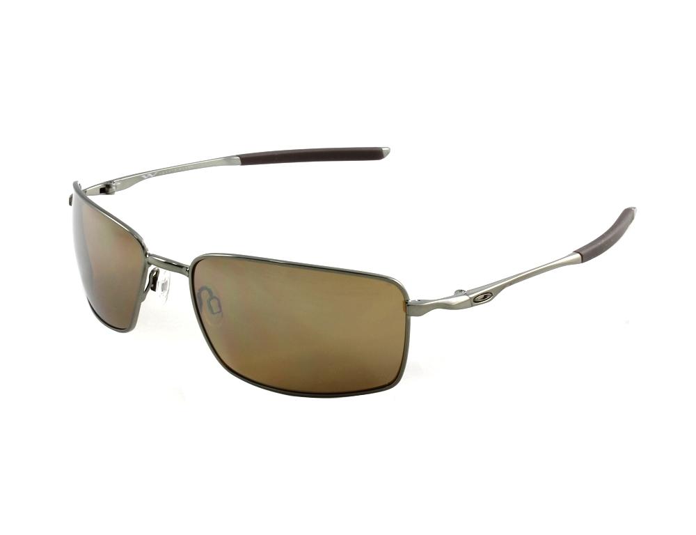 fe78c38017c Oakley OO4075-06 Square Wire Tungsten Iridium Polarized Sunglasses