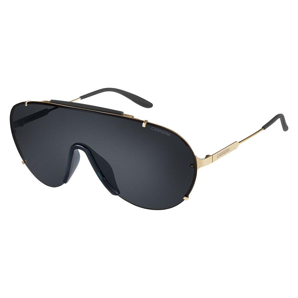 e6aa3bf6e7 Carrera Mens Carrera 129-S J5G P9 Black Gold Sunglasses