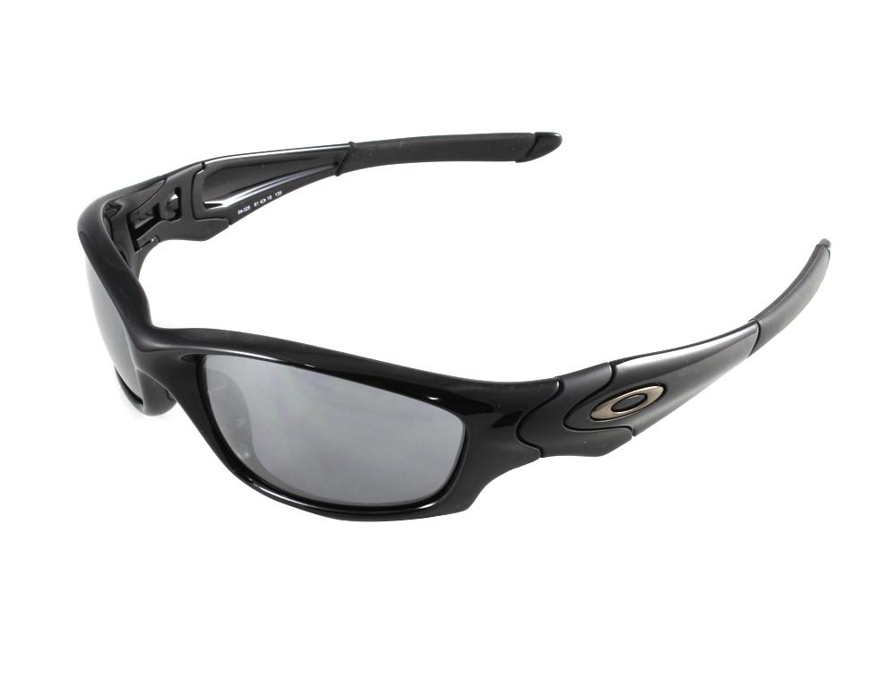 58576cfdd1f Oakley 04-325 Straight Jacket 2007 Jet Black - Black Iridium Sunglasses