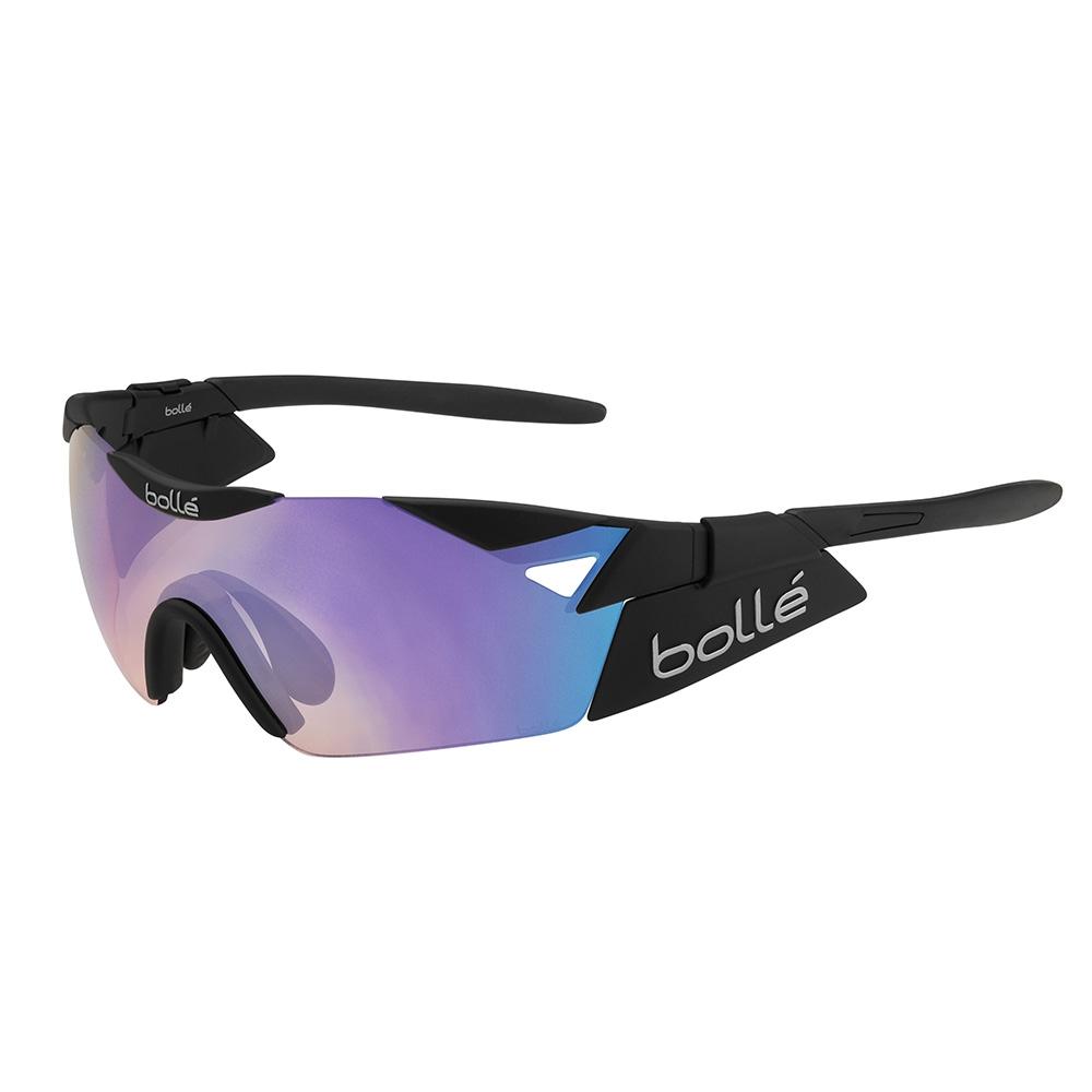 a34d9c6f94 Bolle 6th Sense S Matte Black Blue-Violet Sunglasses