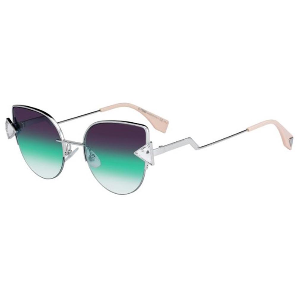 0faa52ff23fb Fendi Ladies Rainbow FF 0242-S VGV QC Sunglasses