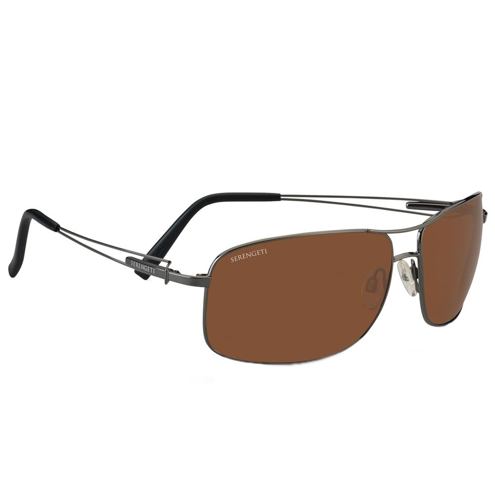 85846cc1749c Serengeti 7665 Sassari Gunmetal Sunglasses