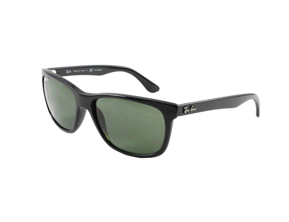 66e7031f1c RayBan RB4181 57 Highstreet Black 601-9A Polarized Sunglasses