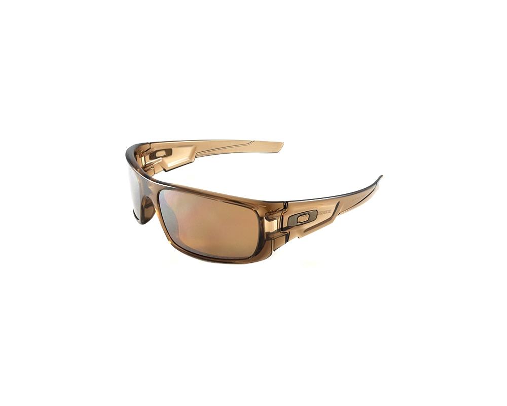 63ecb56dfe Oakley OO9239-07 Crankshaft Brown Smoke - Tungsten Iridium Polarized  Sunglasses