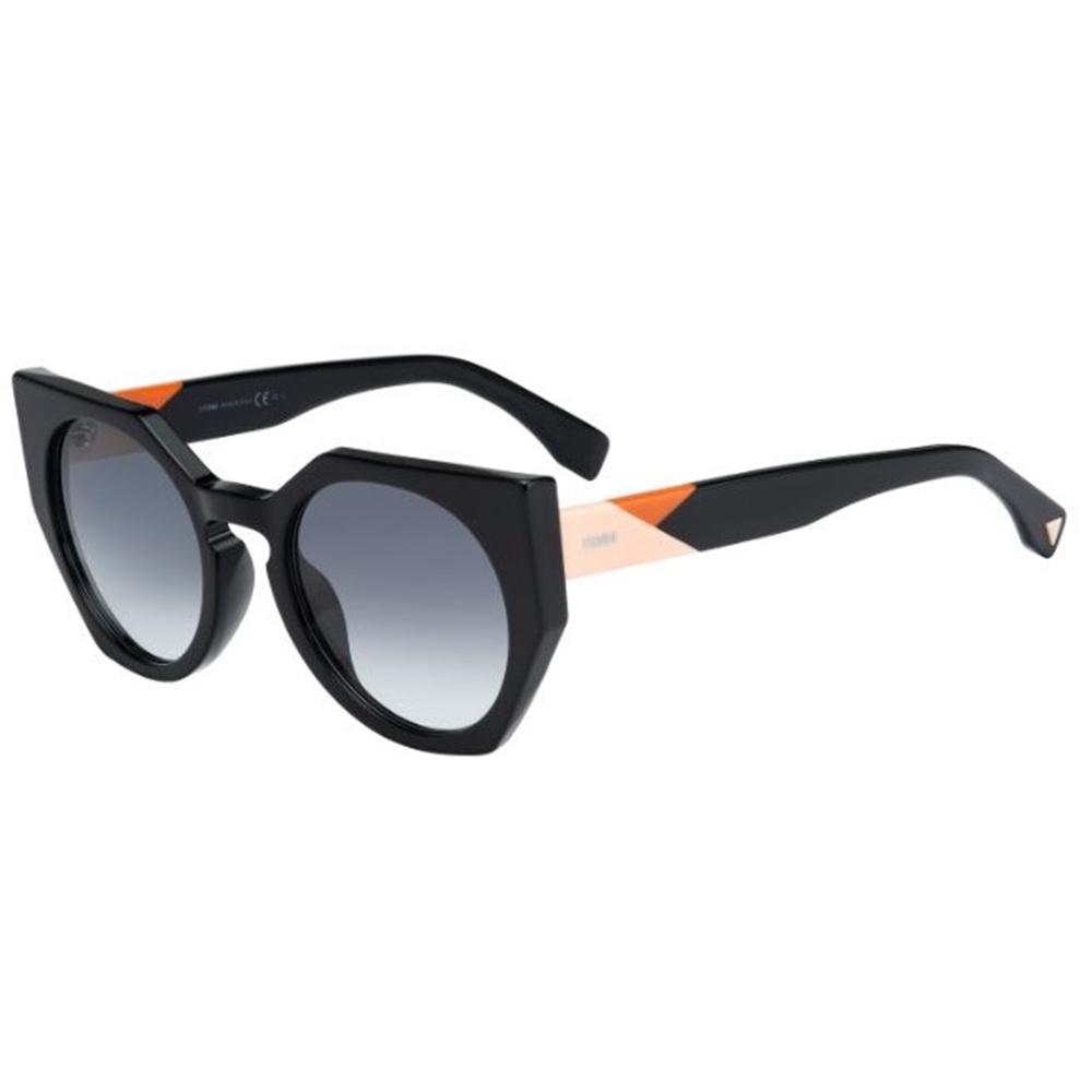 a47ac7cead25 Fendi Facets FF 0151-S 807 JJ Black Sunglasses