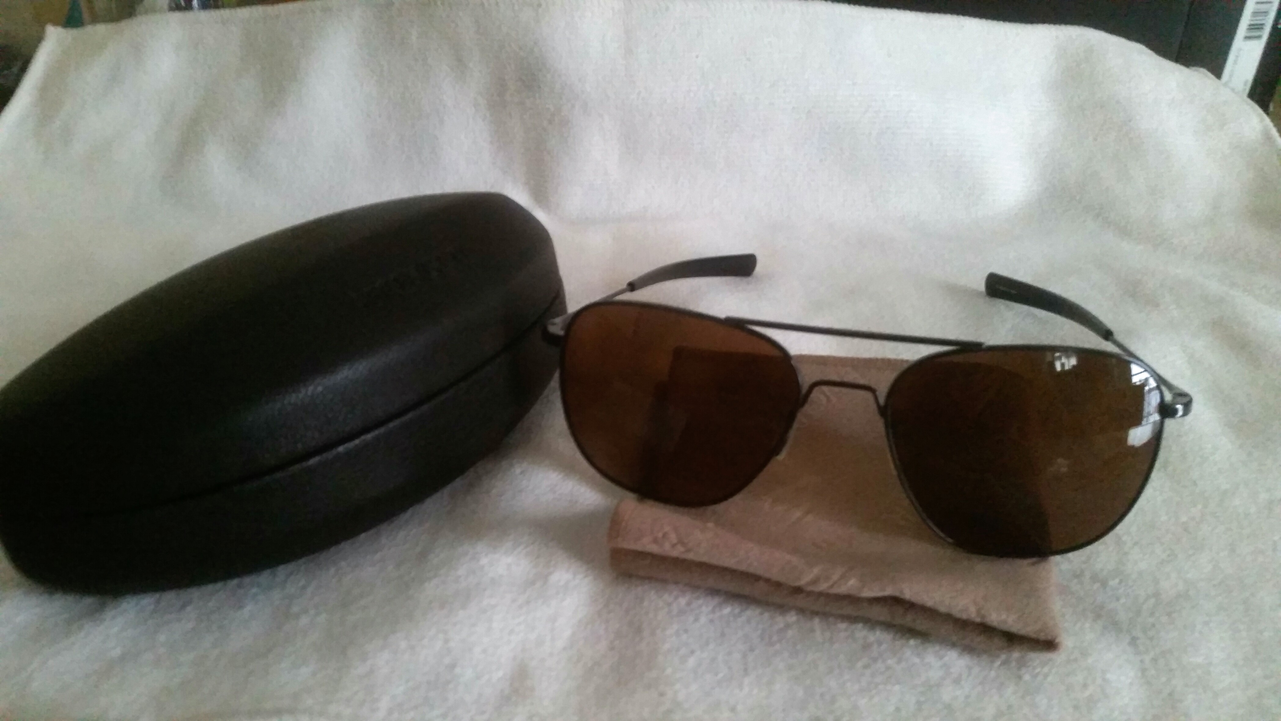 I have owned many pairs of glasses throughout the years, the last 2 or 3 of  which were polarized. No matter the cost or the brand, they had their  weaknesses ... 580ae67e0709