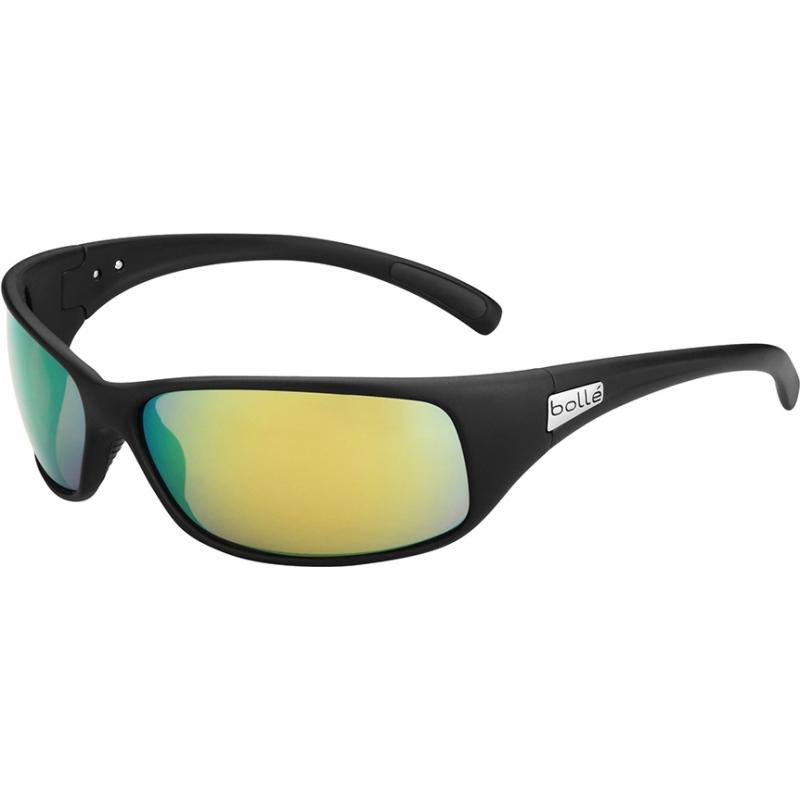 Bolle 11809 Rekyl matsort polariserede brune smaragd solbriller