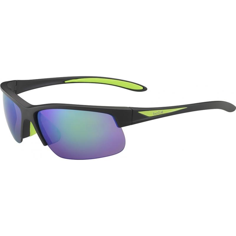 Bolle 12111 Breaker mat sort grøn polariseret brune smaragd solbriller