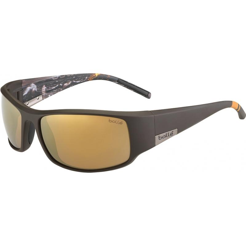Bolle 12120 Kong mat brun havet polariseret indre guld solbriller